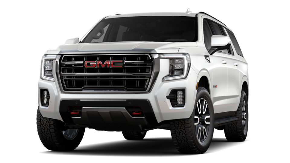 2021 GMC Yukon AT4 XL Luxury SUV in Summit White