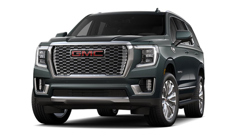2021 GMC Yukon Denali Luxury SUV in Hudson Metallic