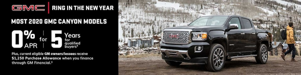 GMC Current Offers: Canyon