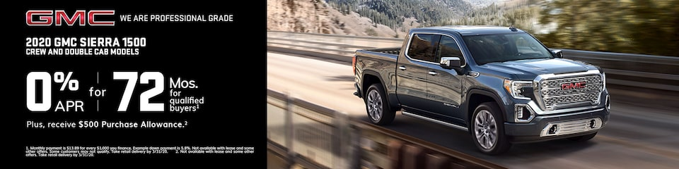 GMC Current Offers: 2019 Sierra Denali 1500 4WD Crew Cab with Denali Ultimate Package