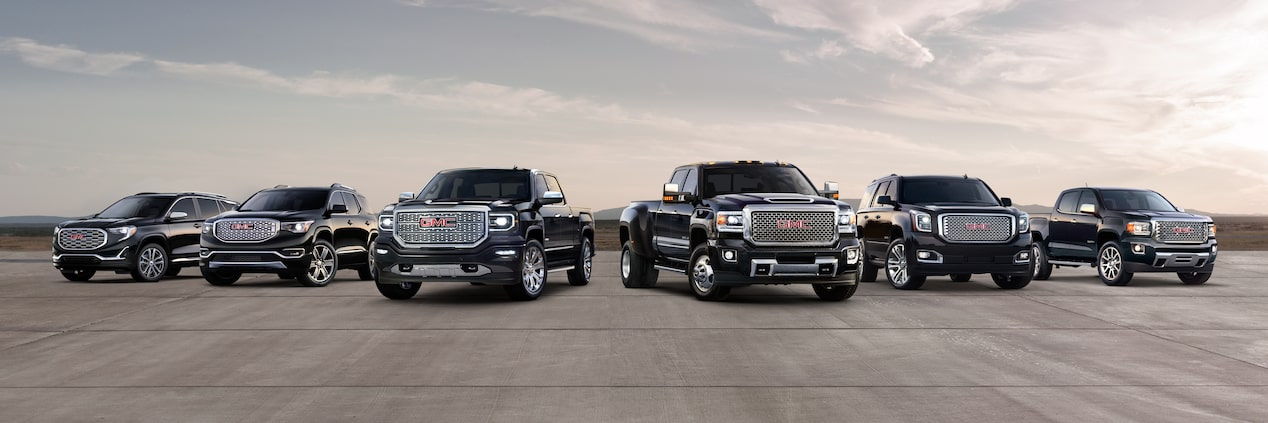 GMC Fleet Trucks and SUVs