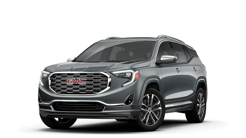 2018 Terrain Denali graphite gray metallic.