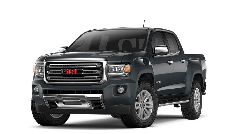 2018 Canyon dark slate metallic.