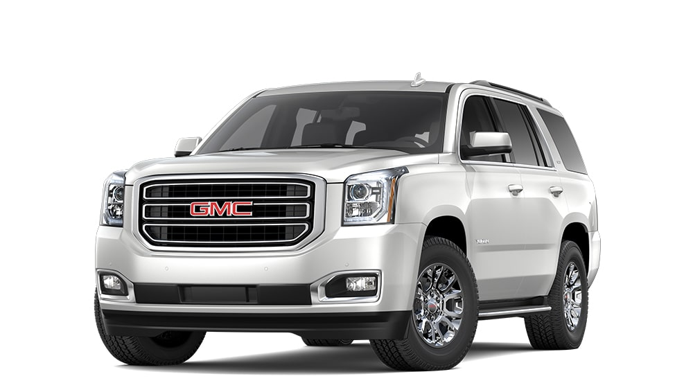 2019 GMC Yukon Full-Size SUV in White Frost Tricoat
