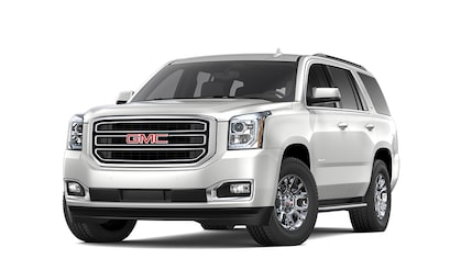 2020 GMC Yukon Denali full size SUV white frost tricoat for model details page