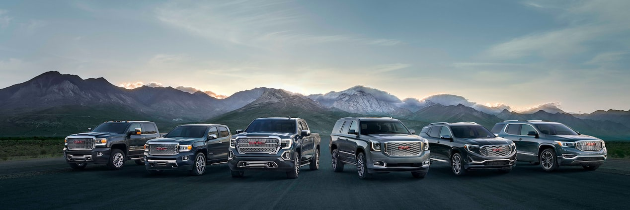 2019 GMC Denali Luxury Commercial Vehicles Lineup