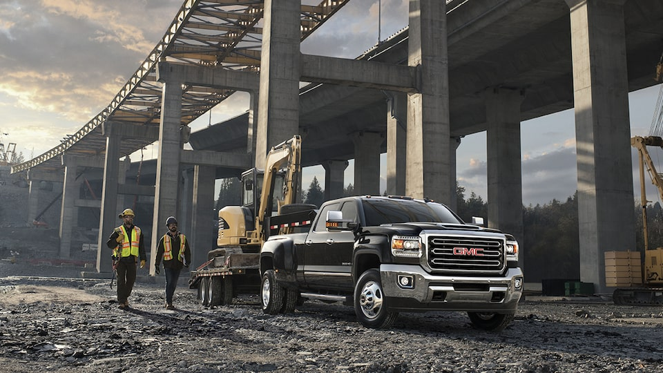 2019 GMC Sierra Heavy Duty Pickup Truck Commercial Vehicle Towing Capability