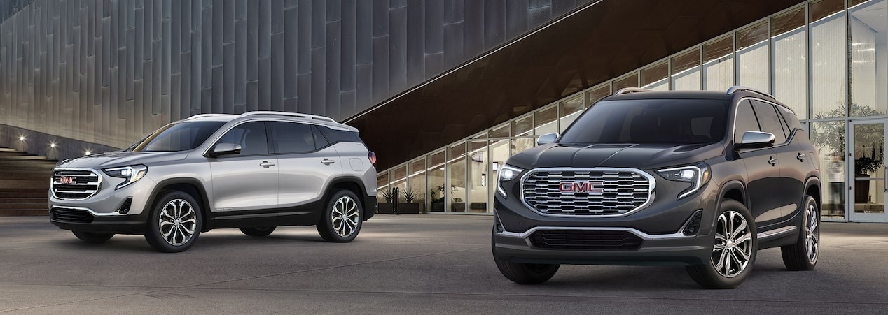 GMC Terrain small SUV.