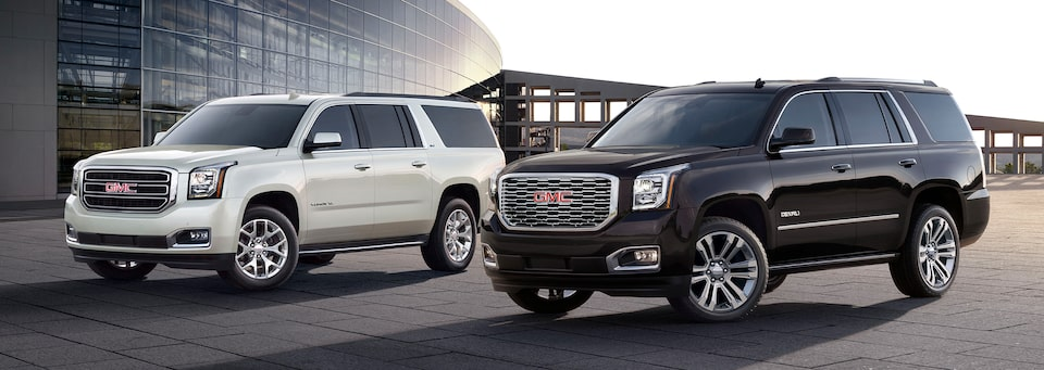 Small, Mid-Size & Full-Size SUVs   GMC