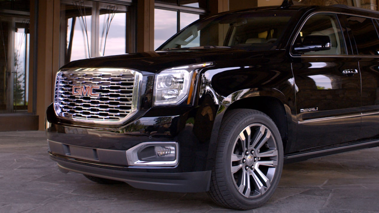 2018 Yukon Denali exterior product video.