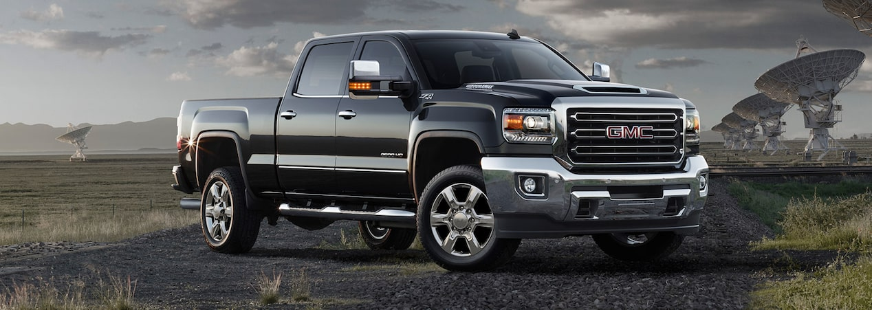 2017 Sierra 2500 heavy-duty pickup truck.