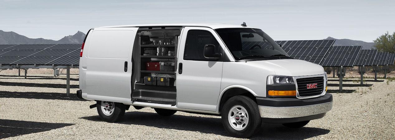 Savana Cargo Van Header Exterior Pgsv