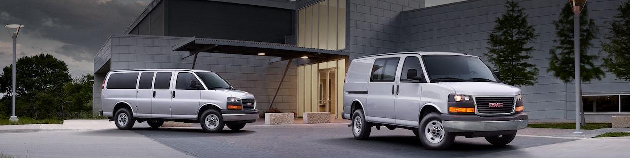 Passenger, Cargo & Cutaway Vans | GMC Savana