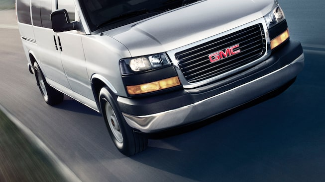 2020 GMC Savana Cargo Van: Hill Start Assist