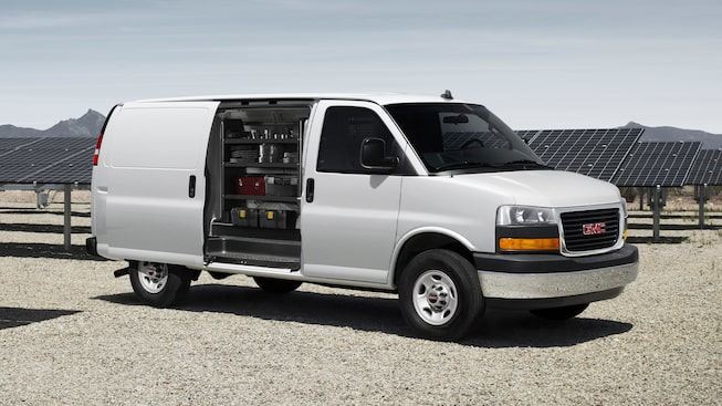 2020 GMC Savana Cargo Van: Sliding Door