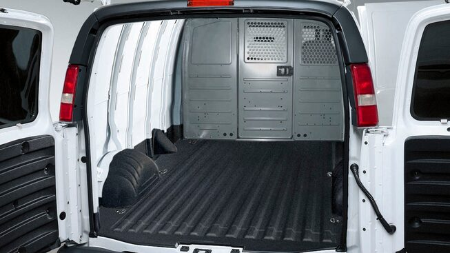 2020 GMC Savana Cargo Van: Spray-in Liner