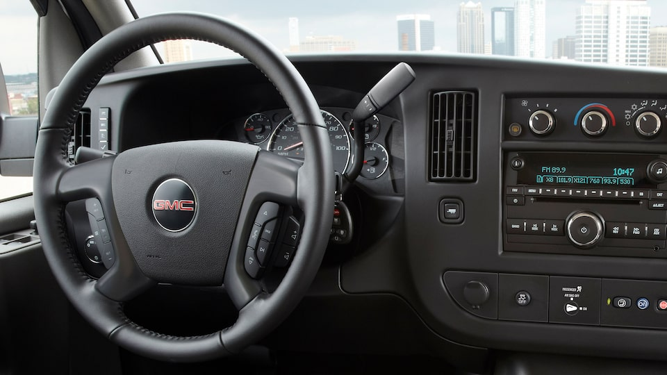 2020 GMC Savana Cutaway Van: 4g in-car wifi