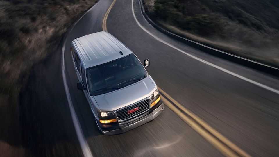 2020 GMC Savana Passenger Van: top  view