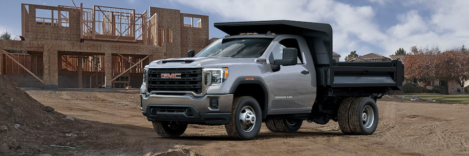 2020 GMC Sierra HD Chassis Cab Driver Side View