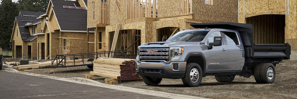 2020 GMC Sierra HD Chassis Cab Front Side View