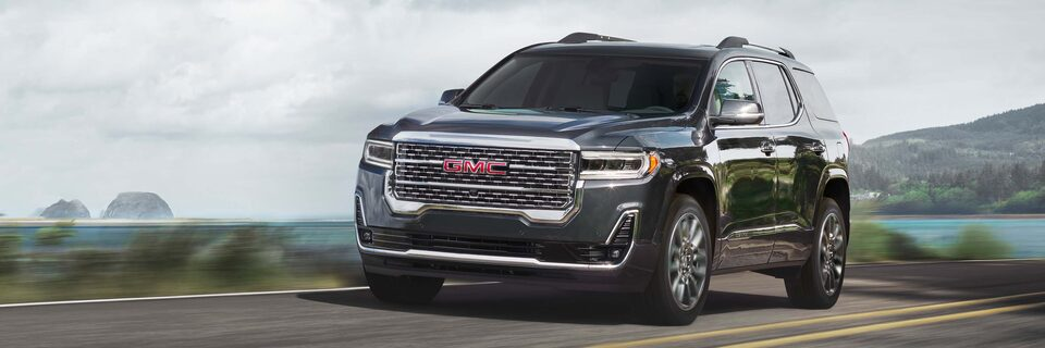 2020 GMC Acadia Front Grille Design