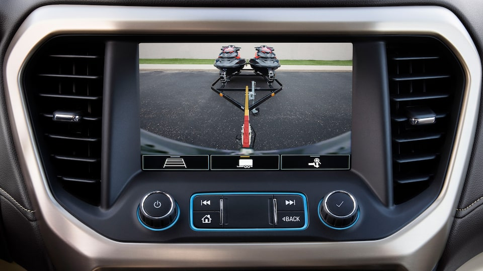 2020 GMC Acadia AT4 Mid-Size SUV: rear camera hitch view
