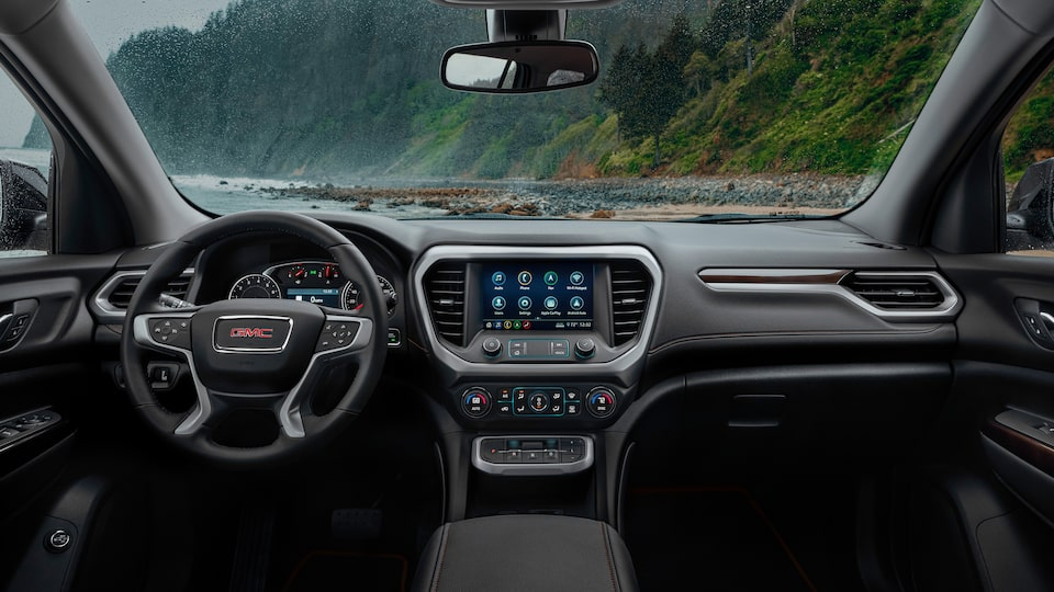 2020 GMC Acadia AT4 Mid-Size SUV Front Dashboard Interior Technology