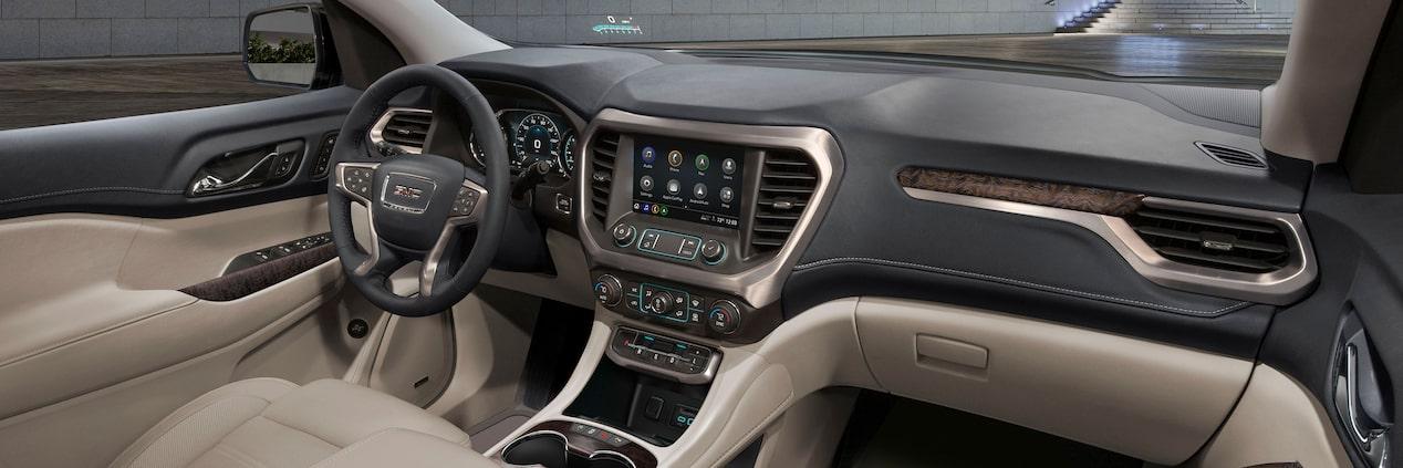 2020 GMC Acadia Interior, Price & Release Date >> Interior Features 2020 Gmc Acadia Denali Luxury Suv