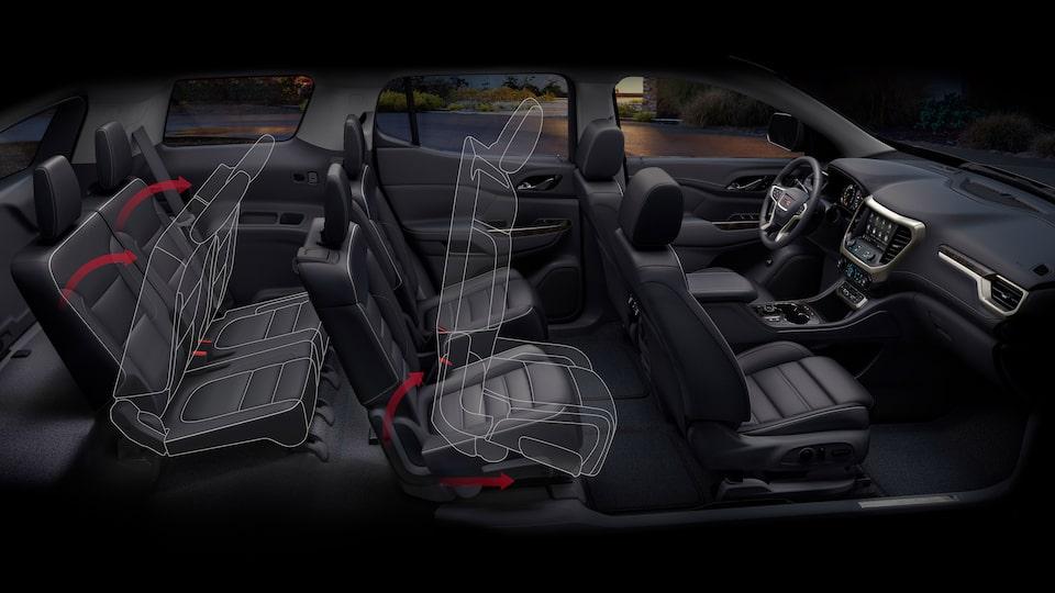 Interior Features   2020 GMC Acadia Denali   Luxury SUV