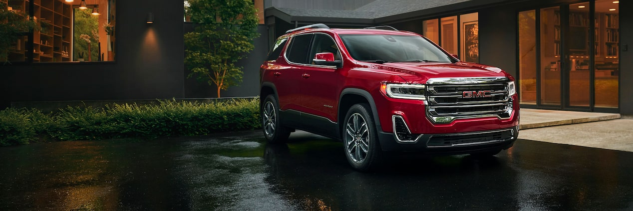2020 GMC Acadia: Mid-update, News, Release >> Exterior Features 2020 Gmc Acadia Sle Slt Mid Size Suv