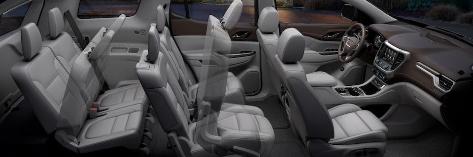 Suv With Third Row >> Interior Features   2020 GMC Acadia SLE/SLT   Mid-Size SUV