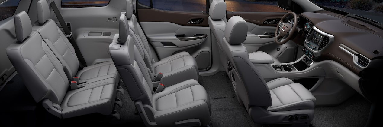 2020 GMC Acadia Interior, Price & Release Date >> Interior Features 2020 Gmc Acadia Sle Slt Mid Size Suv
