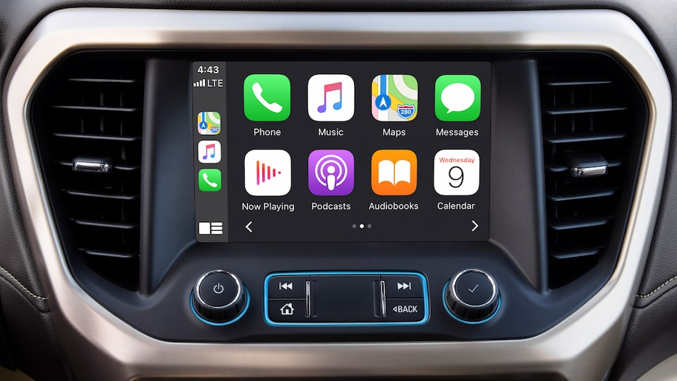 2020 GMC Acadia SLT Mid-Size SUV: Touch Screen with Apple Carplay