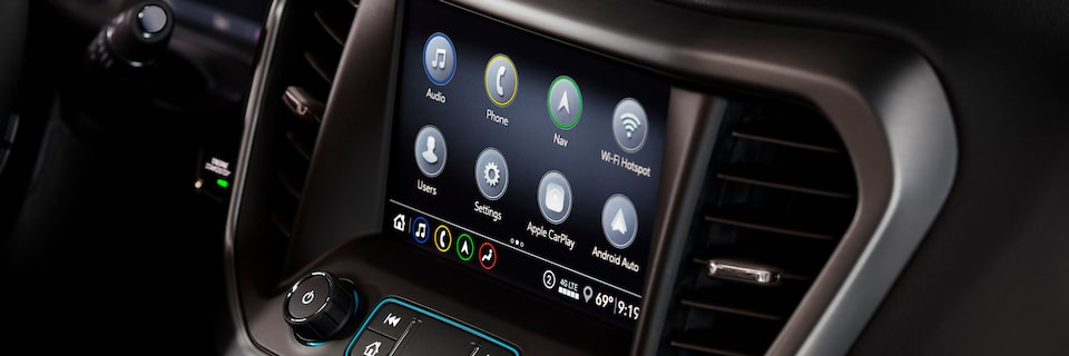 Technology Features | 2020 GMC Acadia SLE/SLT | Mid-Size SUV