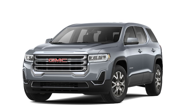 2020 GMC Acadia Mid-Size SUV in pepperdust metallic