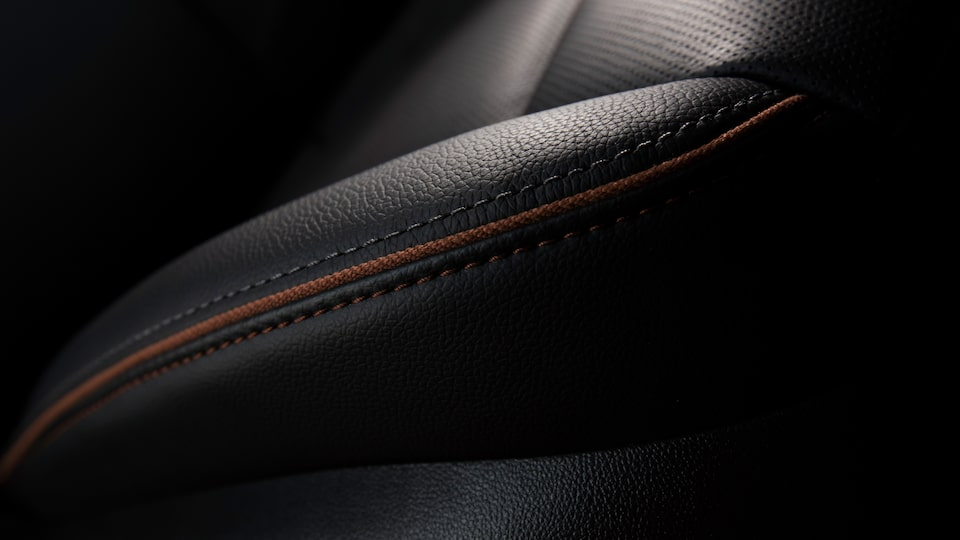 2020 GMC Acadia AT4 Mid-Size SUV: exclusive leather seat detail