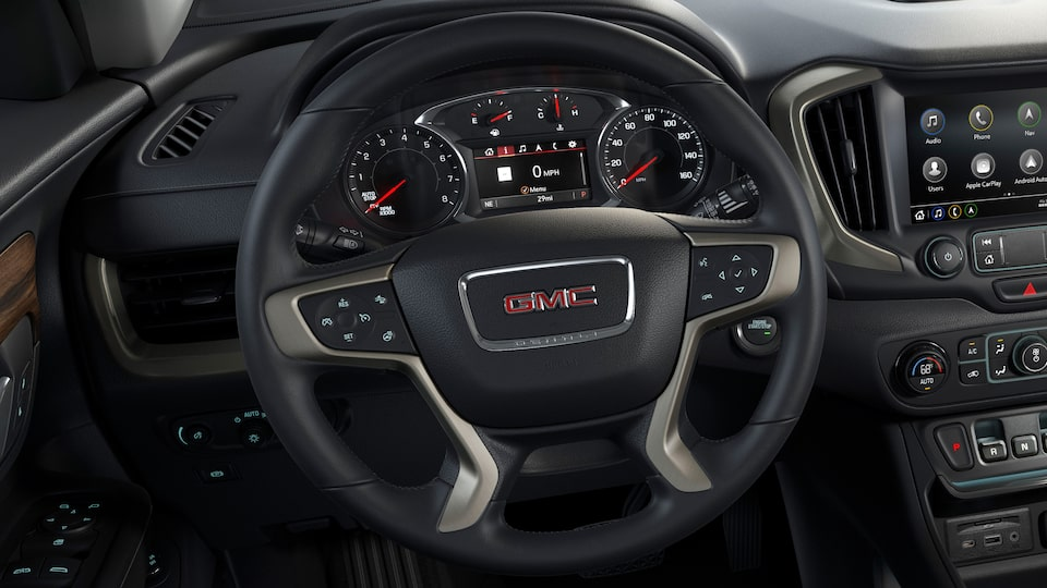 2020 GMC Terrain Denali steering wheel