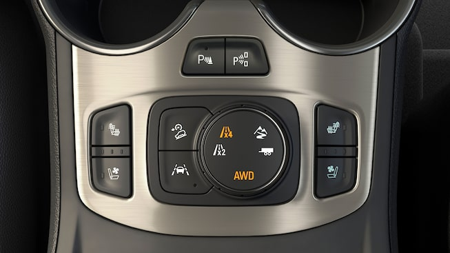 2020 GMC Terrain traction select