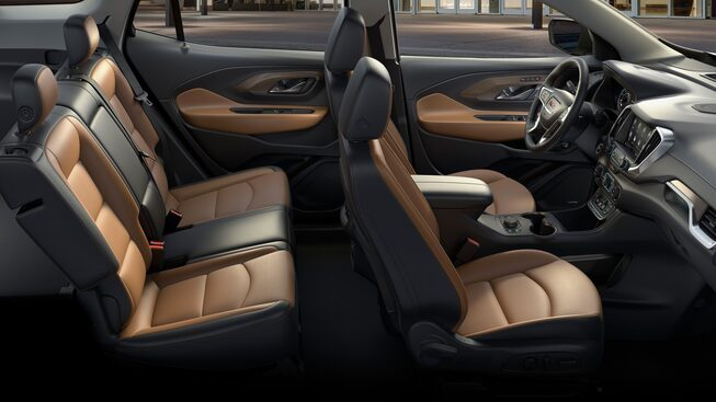 2020 GMC Terrain interior flexible seating
