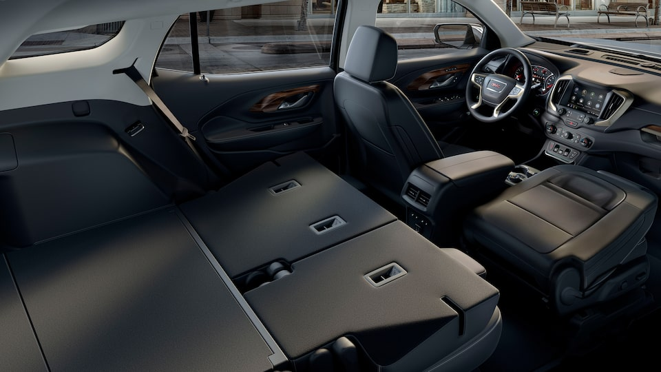 2020 GMC Terrain Denali fold down back seats