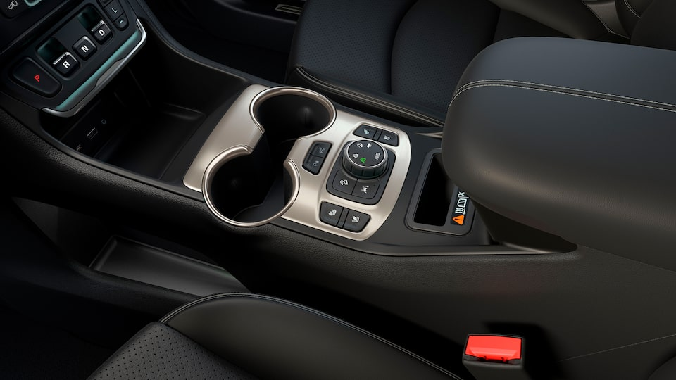 2020 GMC Terrain Denali interior precision shift