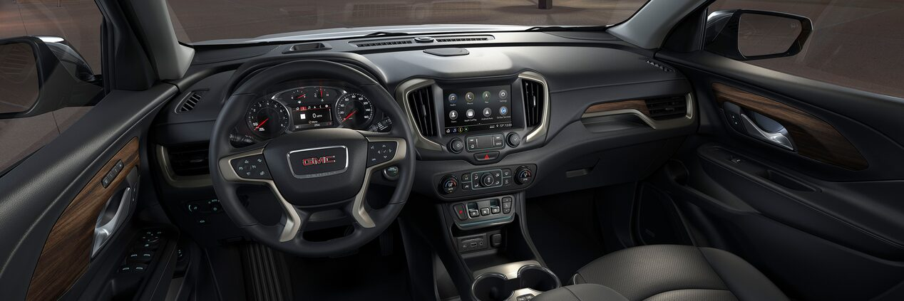 2020 GMC Terrain Denali interior technology