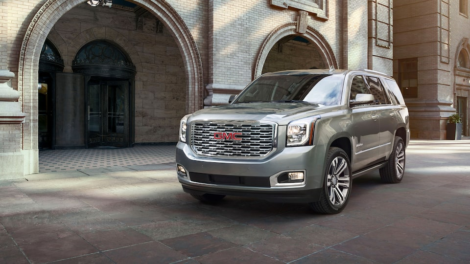 2020 GMC Yukon Denali full size SUV chrome exterior feature