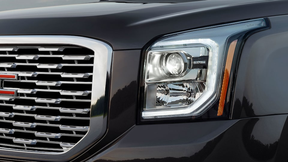 2020 GMC Yukon Denali full size SUV headlight exterior feature