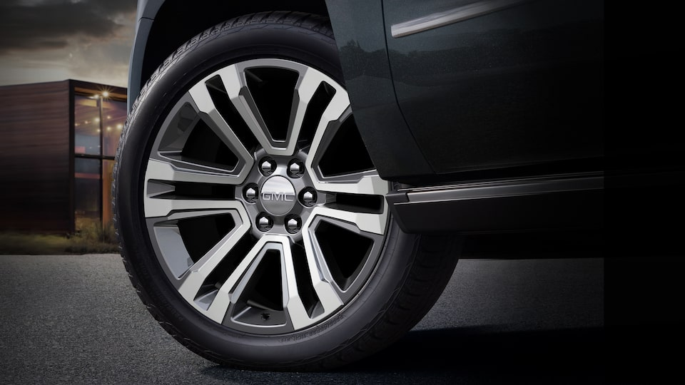 2020 GMC Yukon Denali full size SUV wheels detail exterior feature