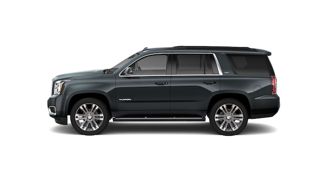 2020 GMC Yukon Denali full size SUV side image for model details page