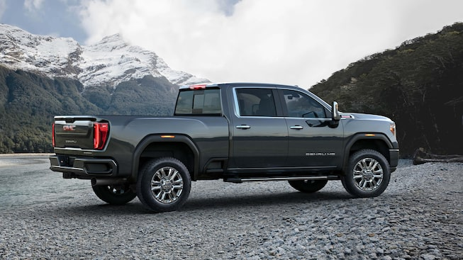 Next Generation Sierra HD Truck Exterior Photo: Side View