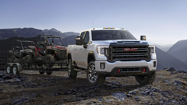 Next Generation Sierra HD Truck: AT4 Off Road