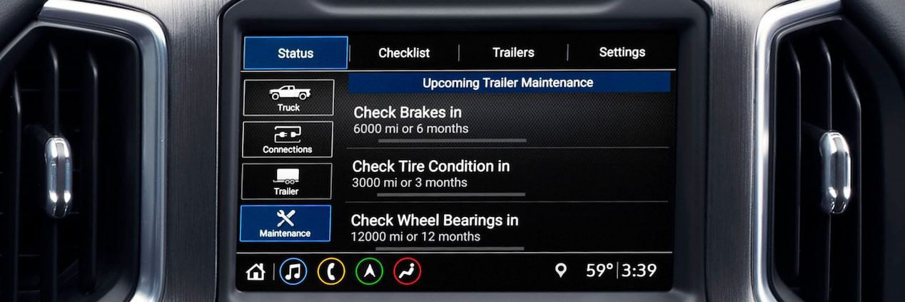 Next Generation Sierra HD Truck: Trailering App