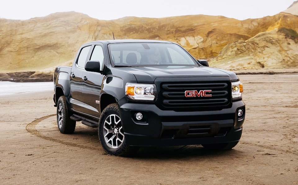 2020 GMC Canyon All Terrain Small Truck Special Edition Front Side Image for Details Page